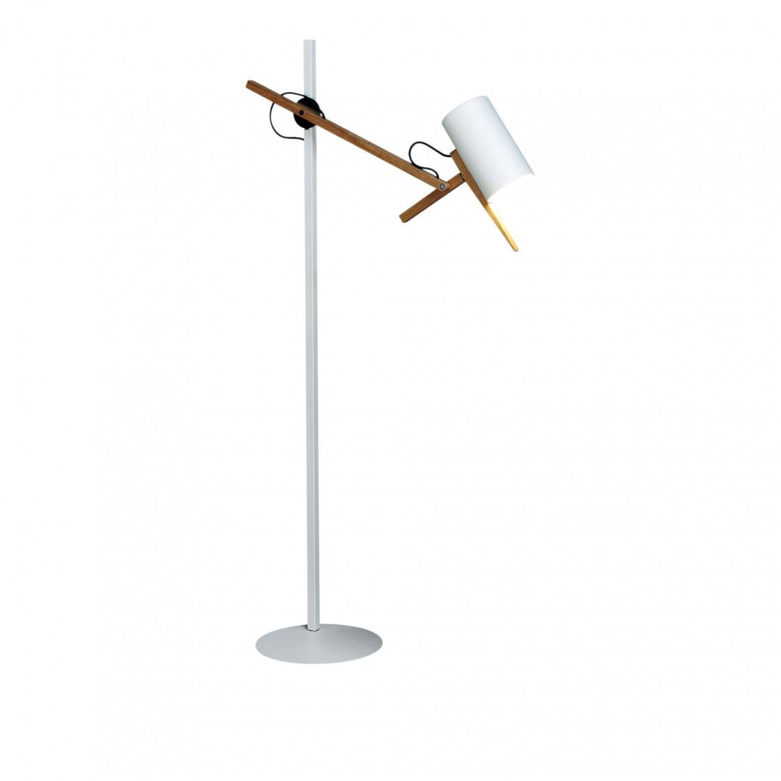 Scantling P73 - Floor Lamp White