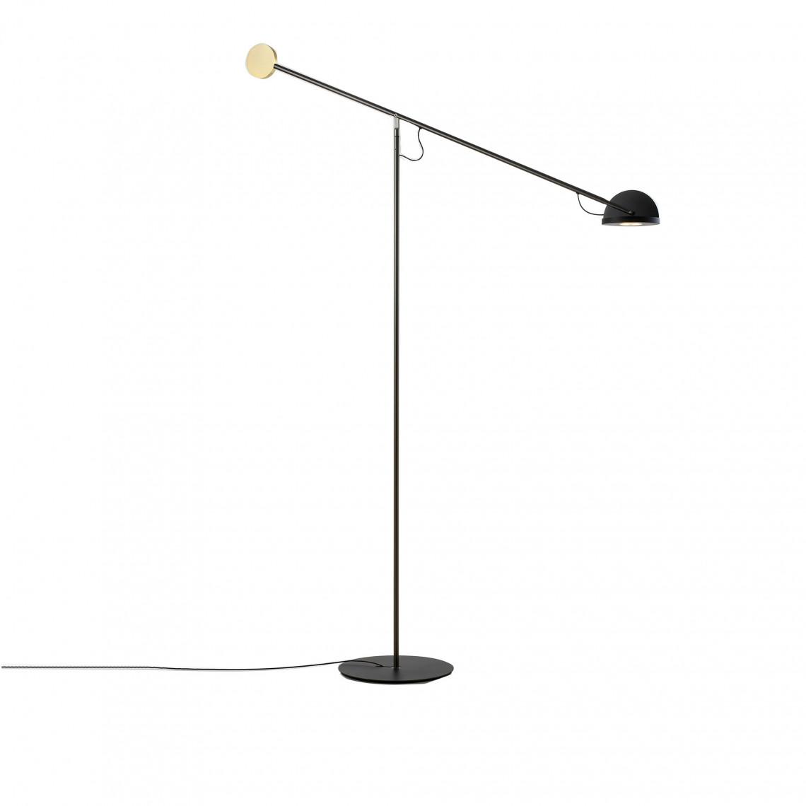 Copernica P - Floor Lamp Gold/Black