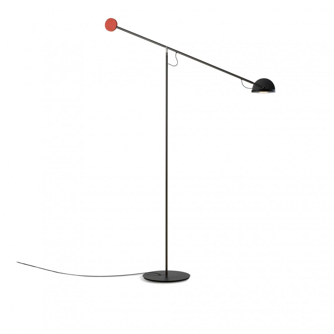 Copernica P - Floor Lamp Red/Black