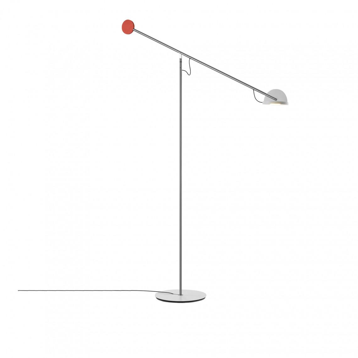 Copernica P - Floor Lamp Red/White