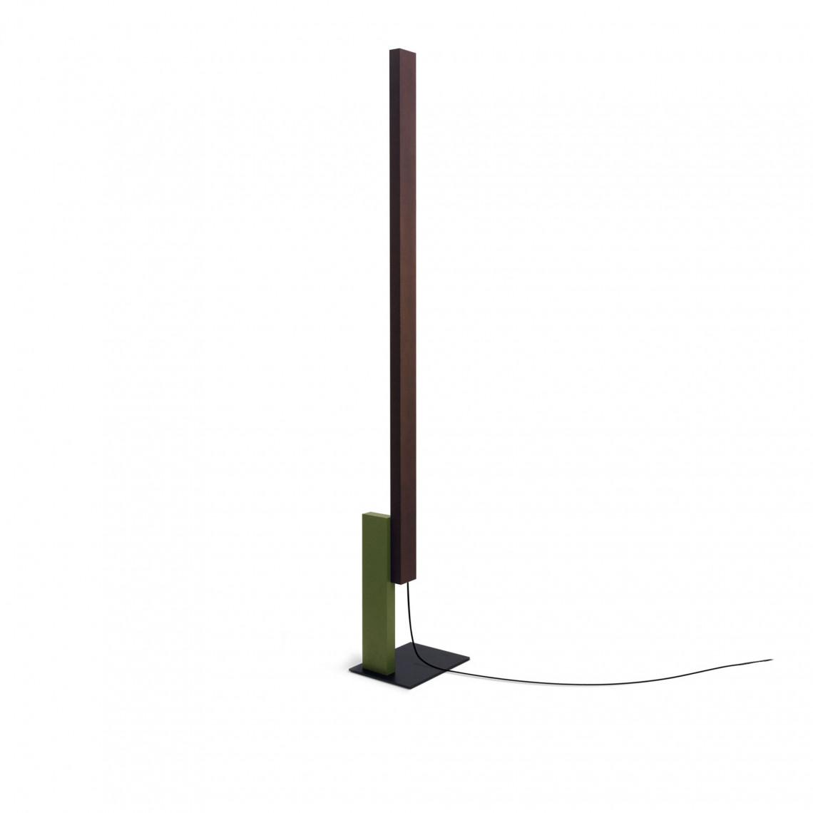 High Line Wenge - Floor Lamp Green