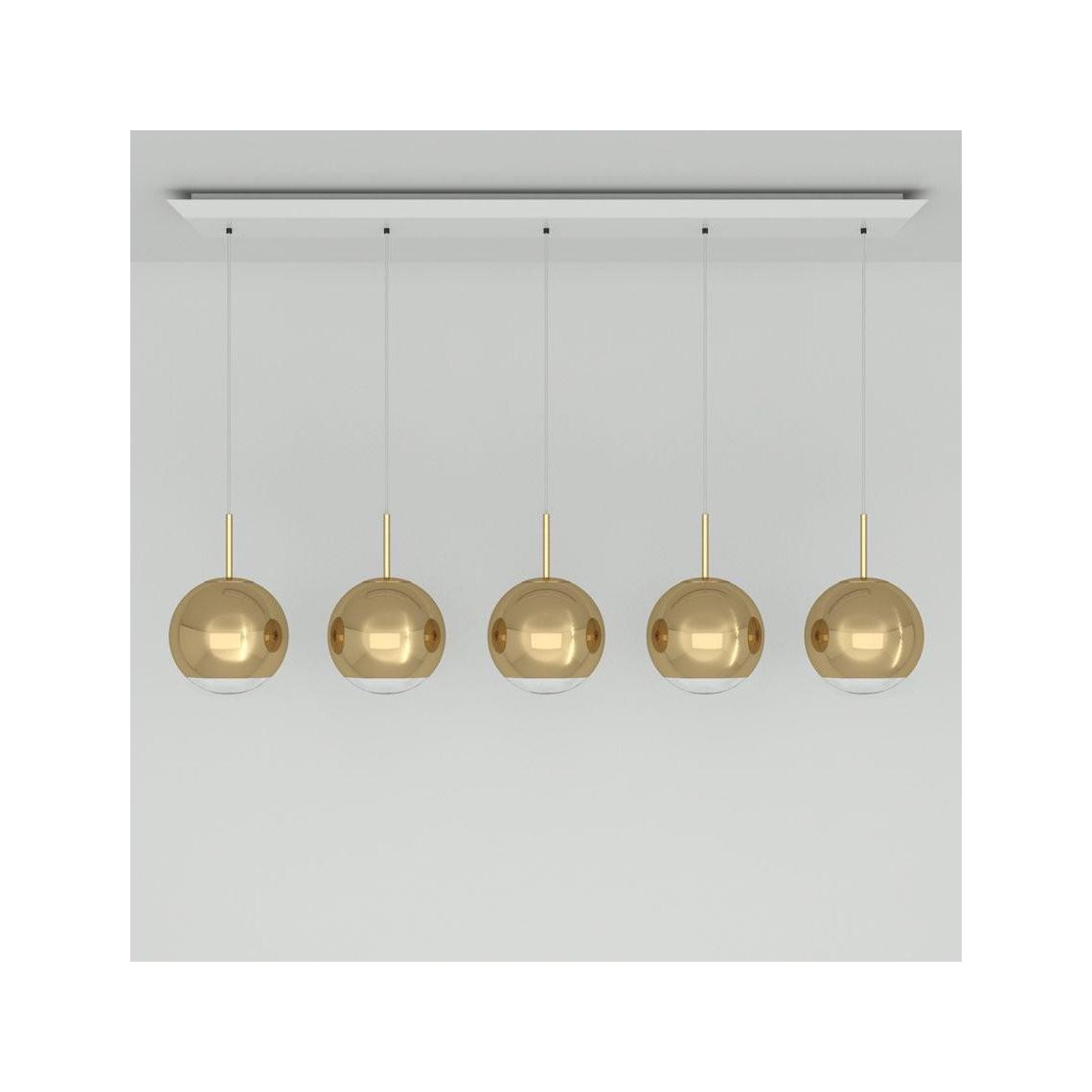 Mirror Ball 25 cm Linjärt Pendelsystem