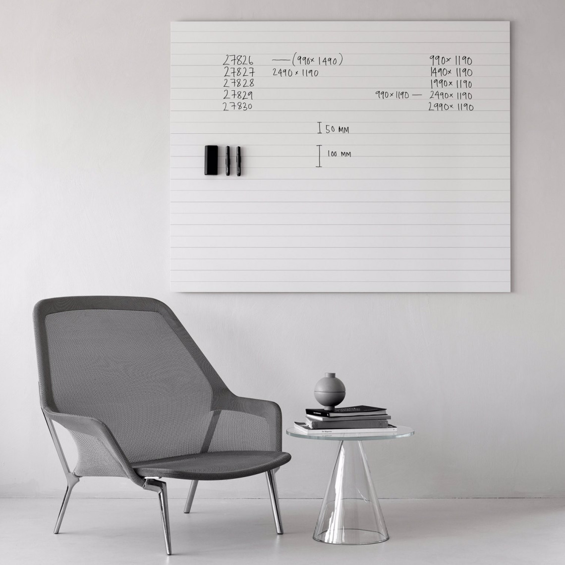 Air Lines Whiteboard