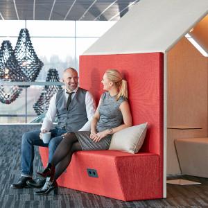 The Hut Sofa, Ljudabsorberande möbel