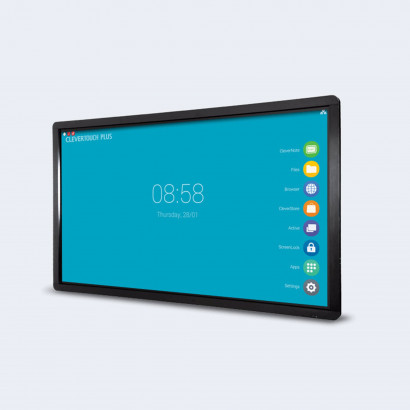 """Clevertouch Plus Series - 65"""" - 20 p touch - m Android - 4K"""