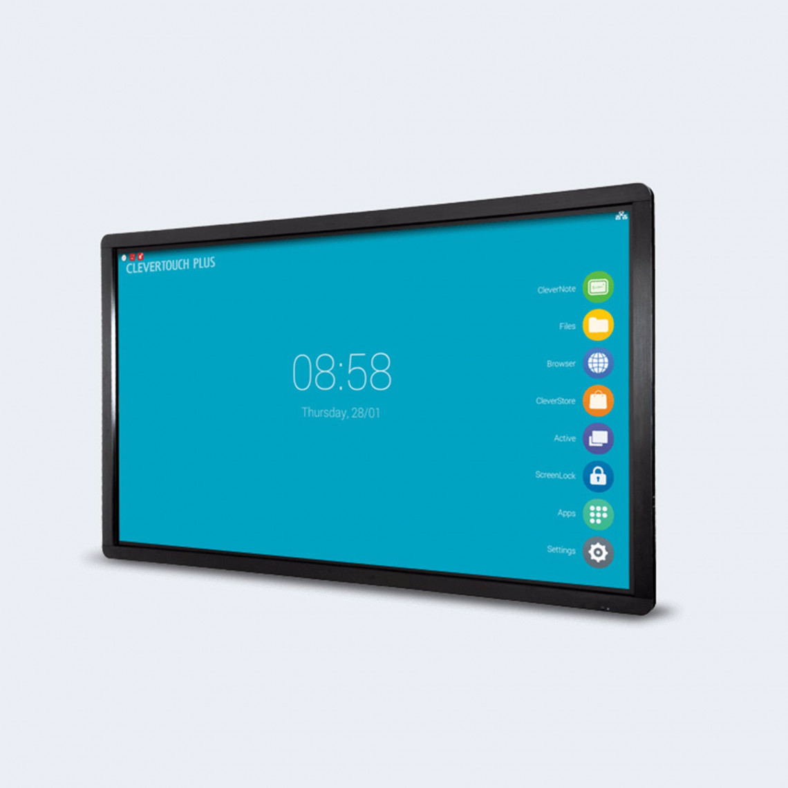 """Clevertouch Plus Series - 86"""" - 20 p touch - m Android - 4K"""