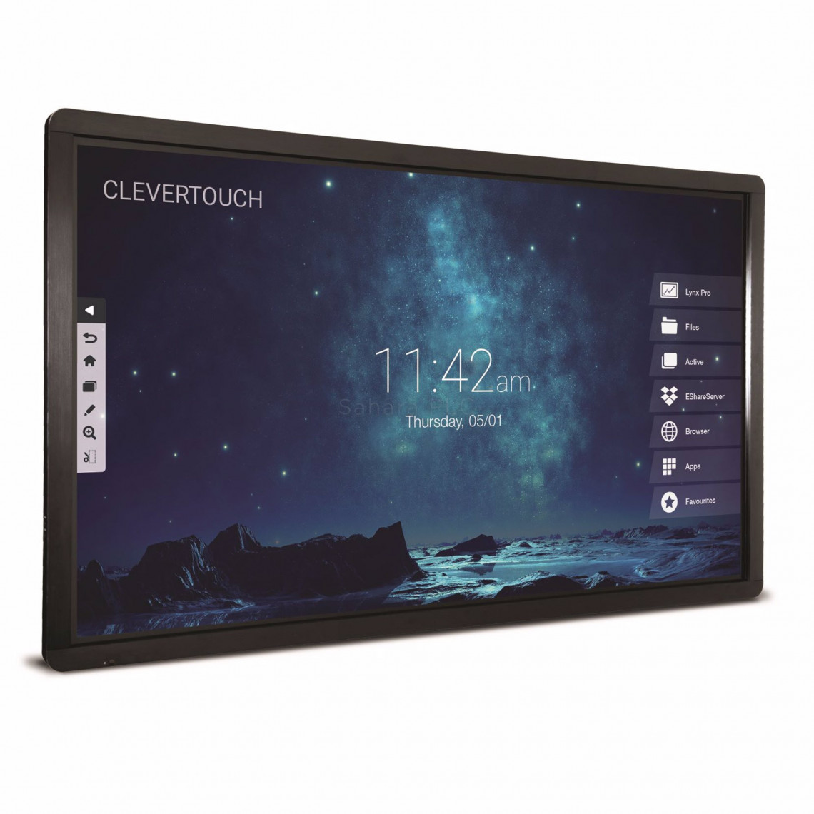 """Clevertouch Pro Series - 75"""" - 20 p touch - m Android - 4K"""