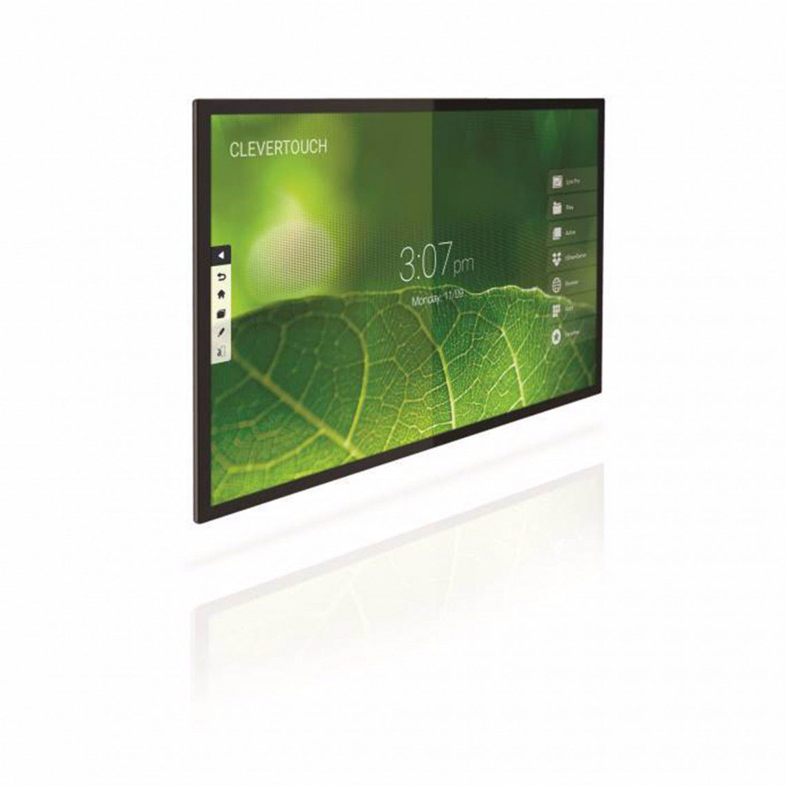 """Clevertouch Pro Series - E-CAP - 86"""" - 20 p touch - m Android - 4K"""