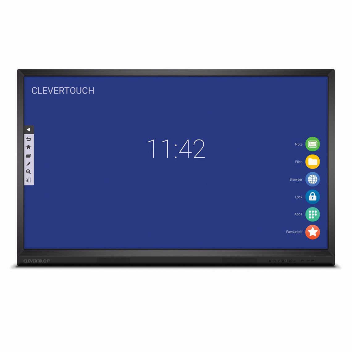 """Clevertouch V Series - 86"""" - 20 point touch, m Android - 4K"""
