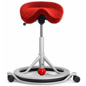 Bl Sadelstol Back app med hjul