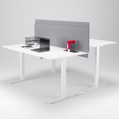 Calm bordsskärm (komplett paket med bordsbeslag)