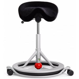 Sv Sadelstol Back app med hjul