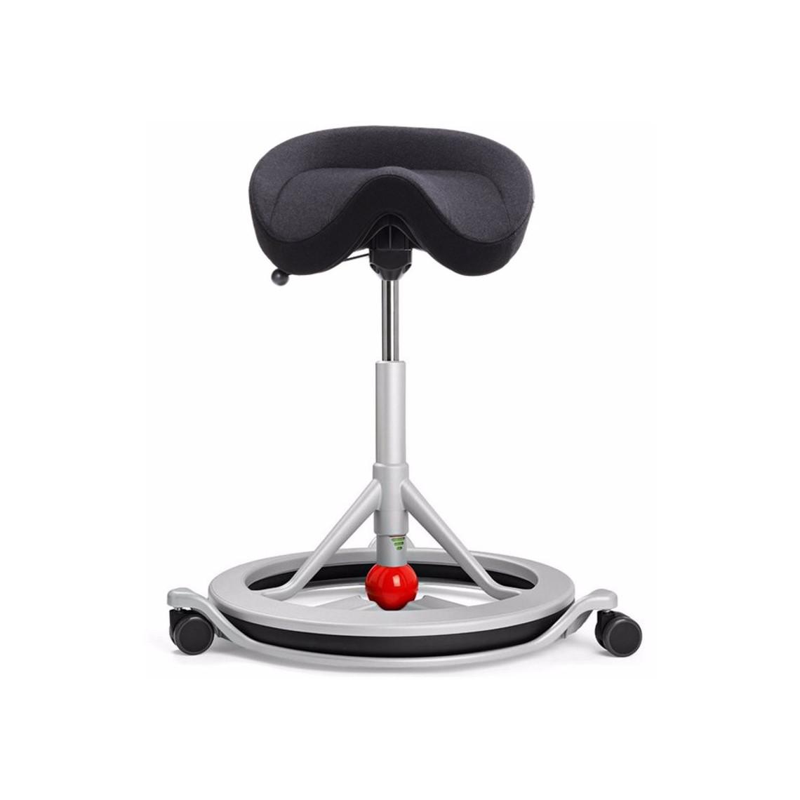 Wo Sadelstol Back app med hjul