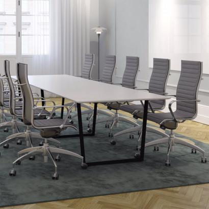 Konferensmöbler 4-14 pers Framie + Origami IN med hög rygg