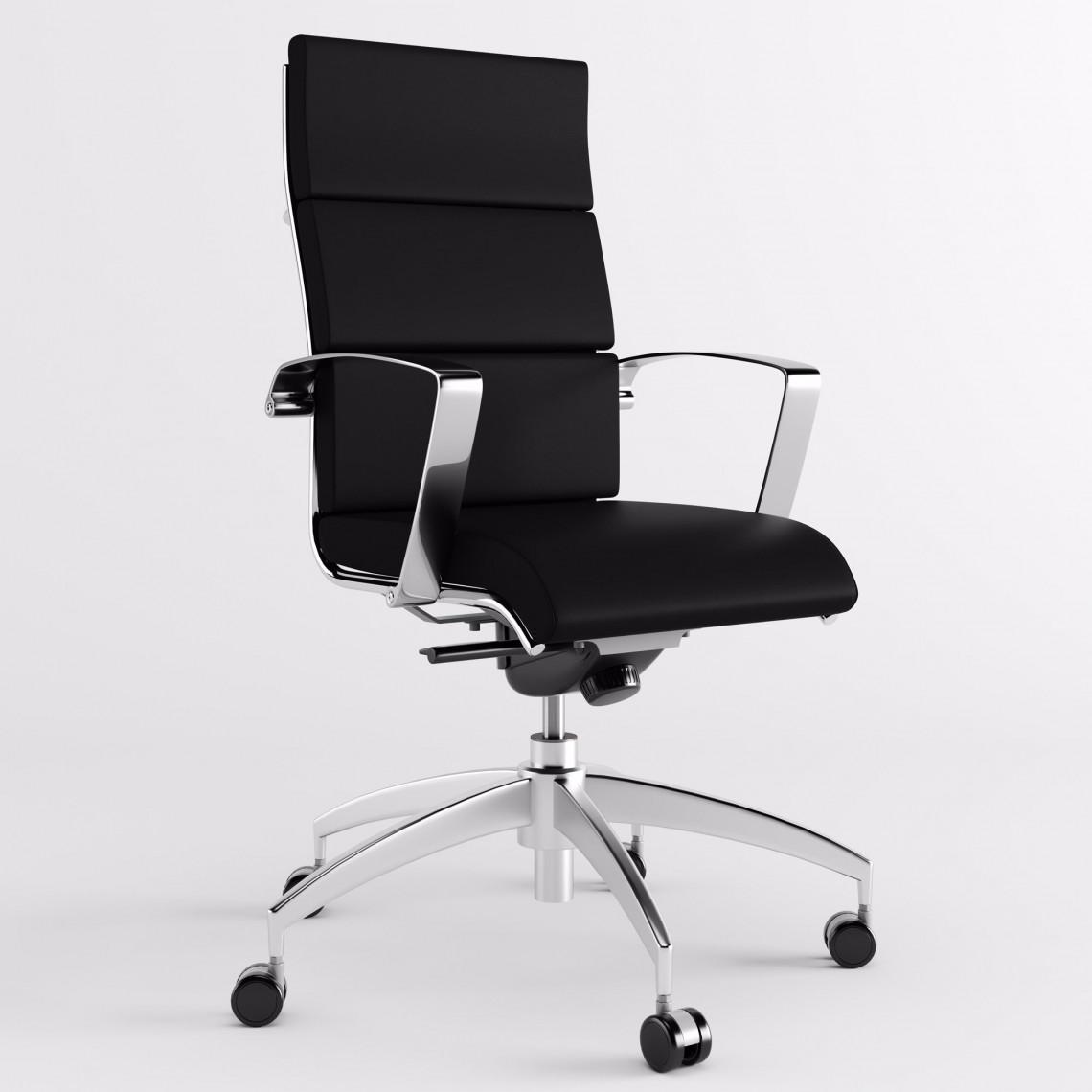 Origami CU karmstol med hög rygg