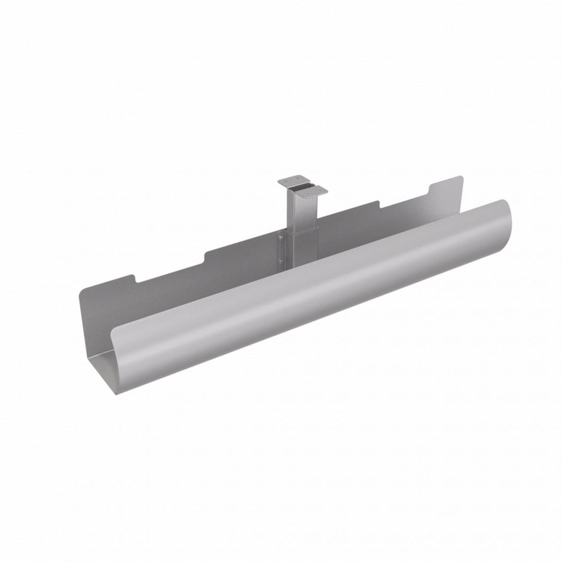 LiftPipe Kabelrör - 650 mm, Silver