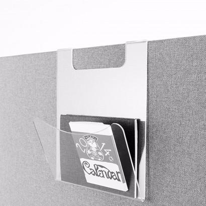 Brevhylla i transparent akryl - Tillbehör till Softline