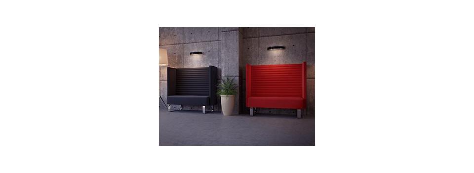 Ljuddämpande möbler